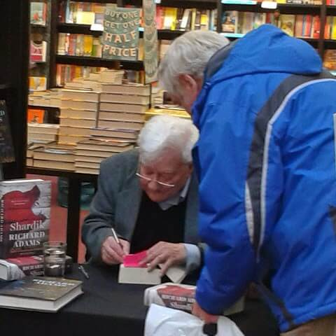 Richard Adams book signing