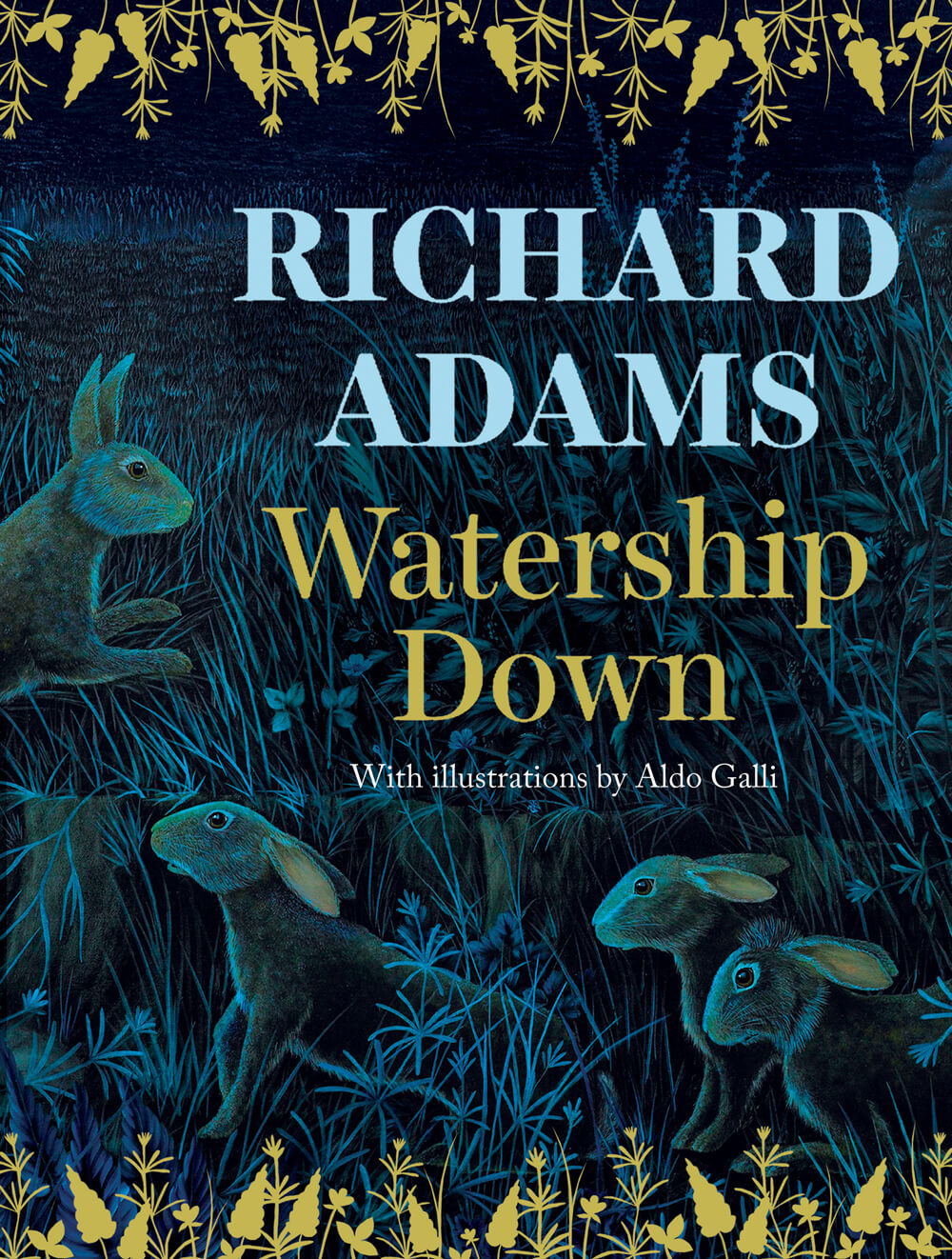 Watership Down front cover